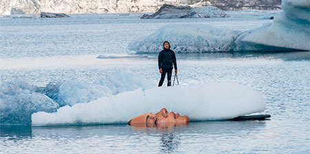 Art on Melting Icebergs