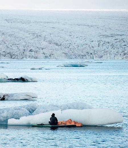 HULA Iceberg Art