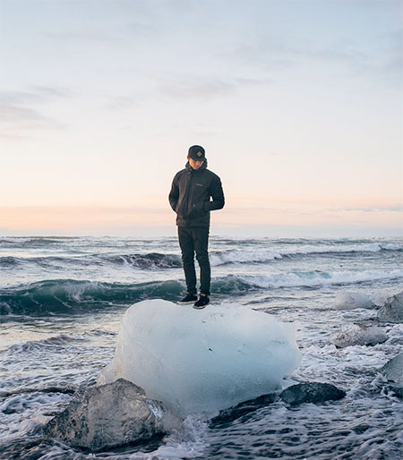 HULA Iceberg Mural