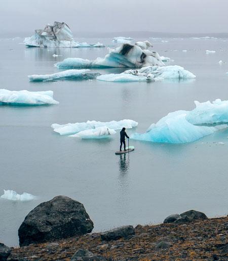 Murals onto Icebergs