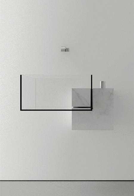 Transparent Bathroom Sink