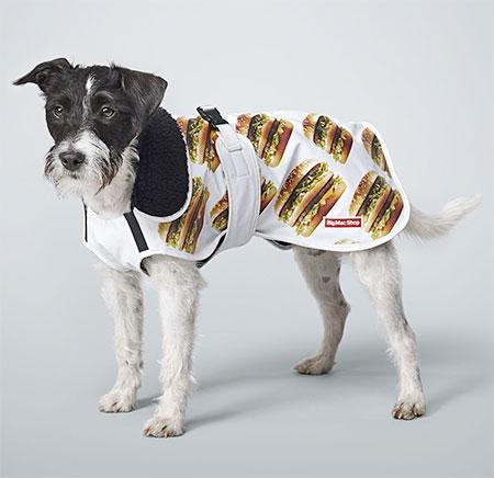 Big Mac Dog Coat