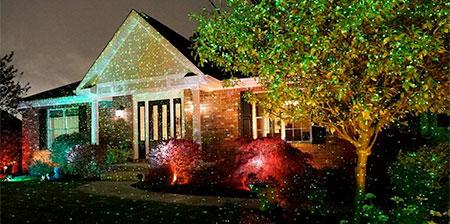 Estrella Ducha Luces de Navidad