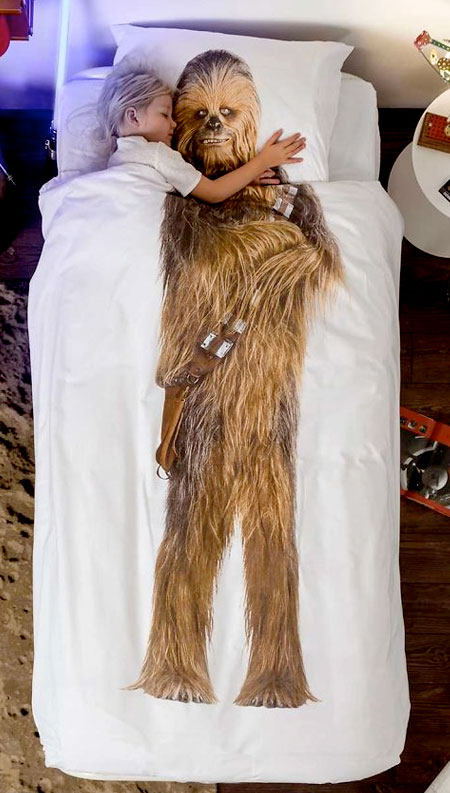 Chewbacca Bed Sheets