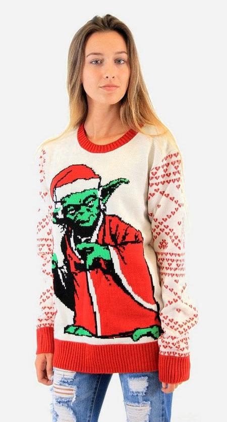 Yoda Christmas Sweater