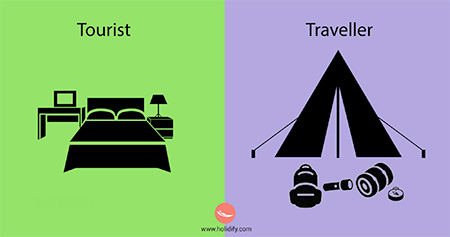 Tourist or a Traveller