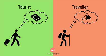 Tourist versus Traveller