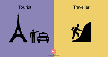 Tourist vs Traveler Holidify