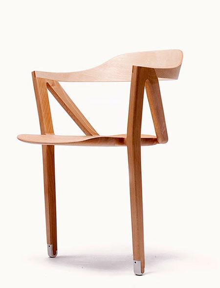Benoit Malta Two Legged Chair