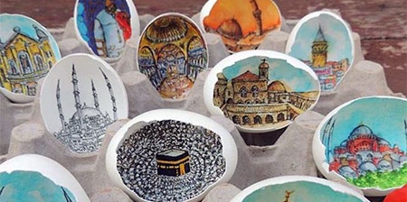 Art on Eggshells