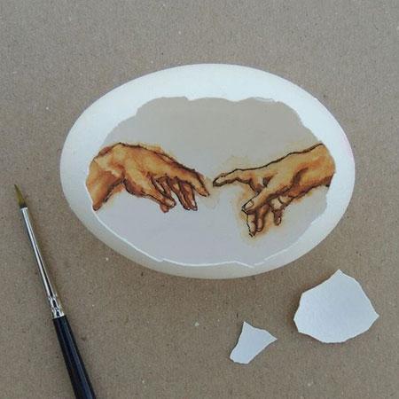 Eggshell Art