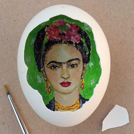 Eggshell Paintings