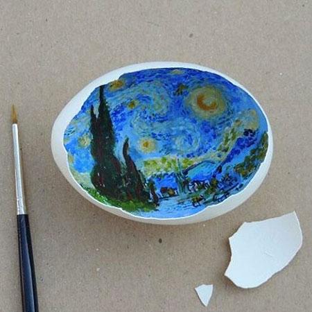 Eggshell Art by Sureyya Noyan