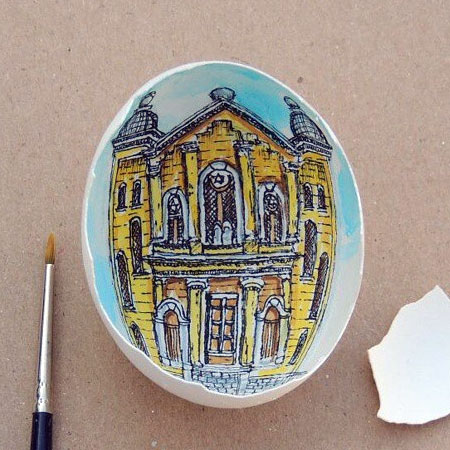 Sureyya Noyan Art on Eggshells