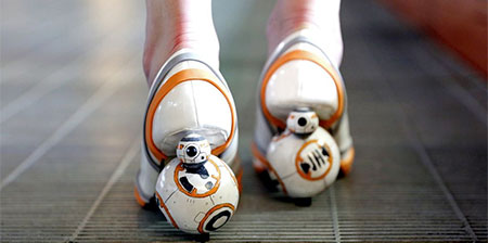 Star Wars BB-8 Zapatos