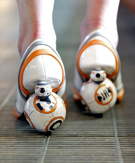 Star Wars BB-8 Heels