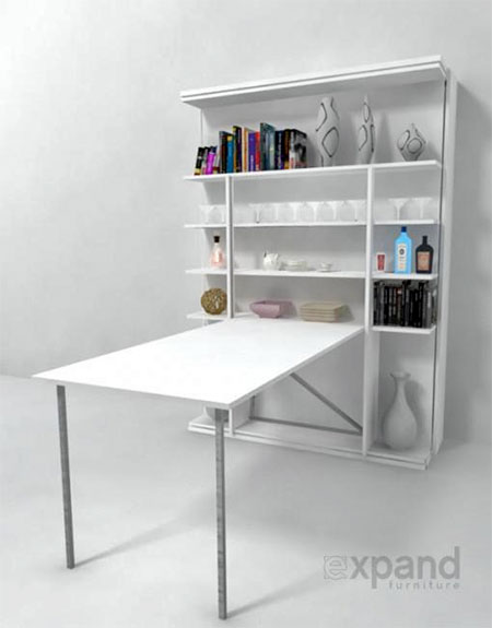 Revolving Bookcase Bed