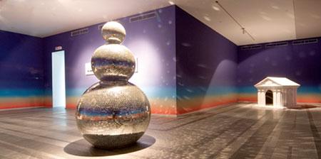 Disco Ball Snowmen
