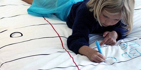 Notepad Bed Sheets
