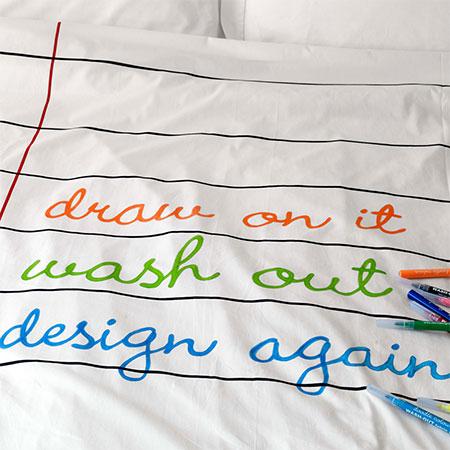 Doodle Duvet by Stitch