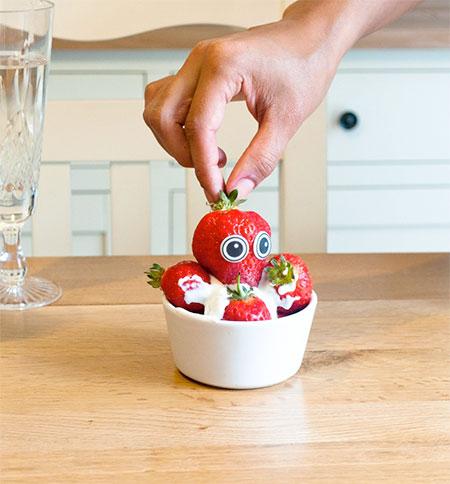 Edible Food Eyes