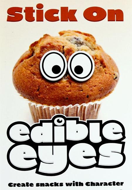 Stick On Edible Eyes