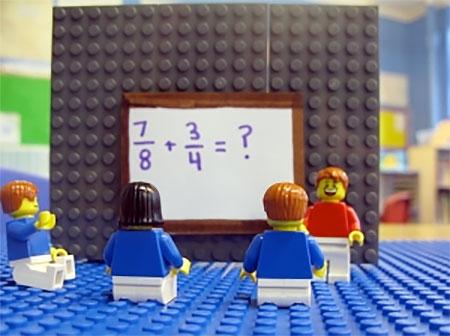 Alycia Zimmerman LEGO Math