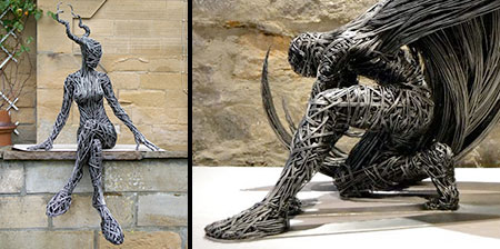 Beautiful Wire Sculptures