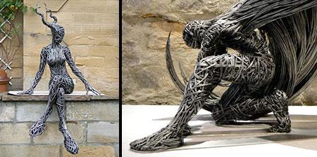 Beautiful Wire Sculptures