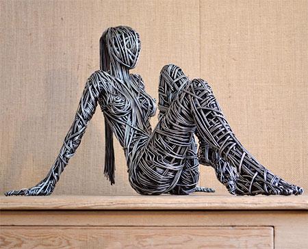 Beautiful Wire Sculpture