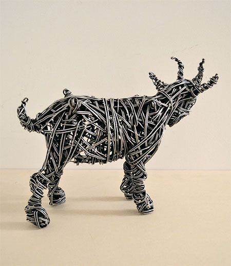Richard Stainthorp Wire Sculptures