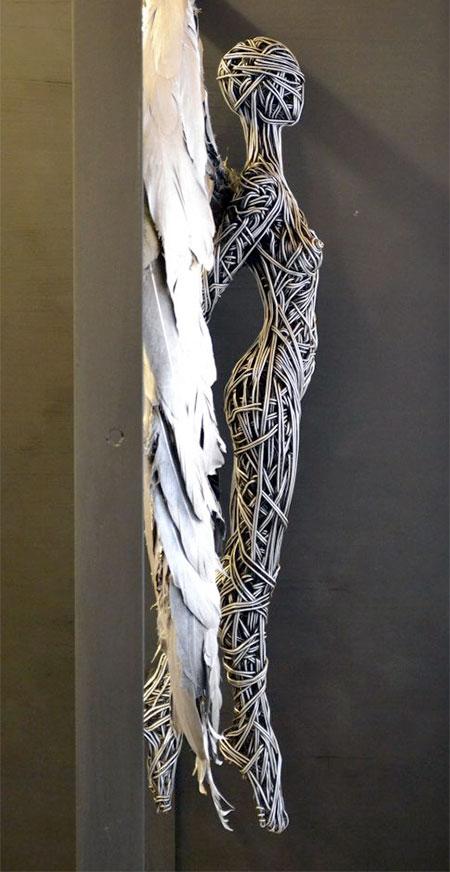 Richard Stainthorp Wire Sculpture