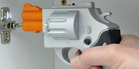 Revolver Gun Screwdriver