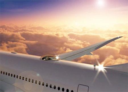 Airplane Dome Window