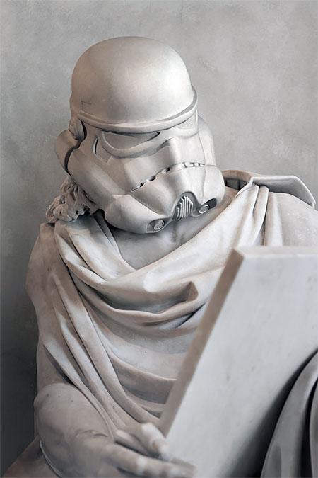 Stormtrooper Statue