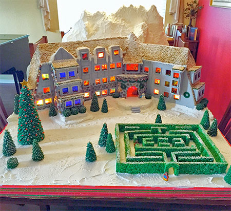 The Shining Gingerbread Hotel