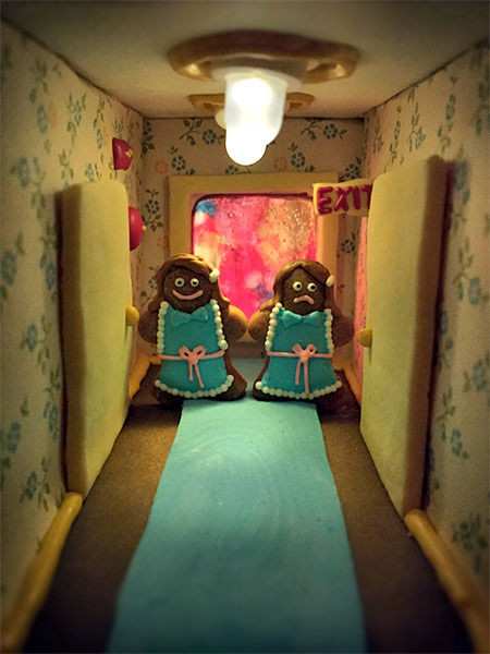 Gingerbread The Shining House