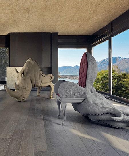 Maximo Riera Animal Chairs