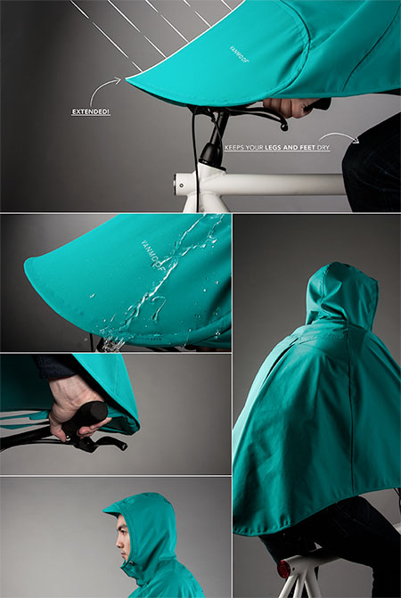 Bicycle Rain Poncho