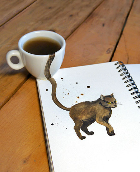 Elena Efremova Coffee Cats