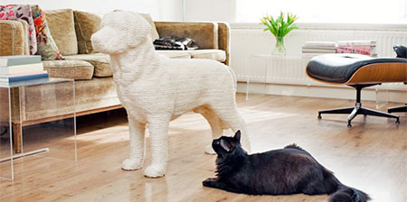 Dog Scratchpost for Cats