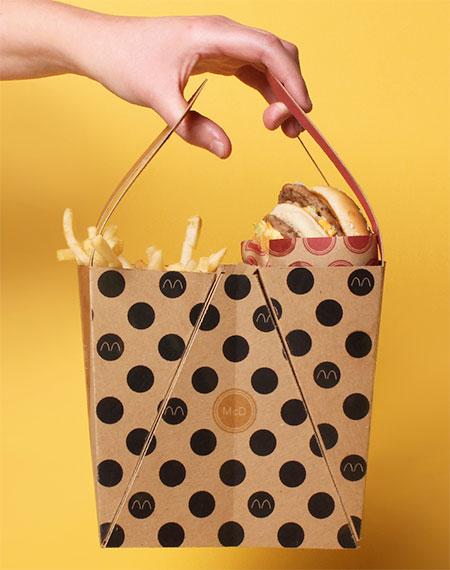 McDonalds Big Mac Packaging