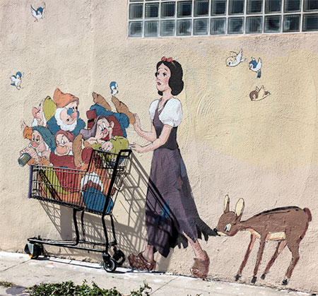 Murals by Ernest Zacharevic