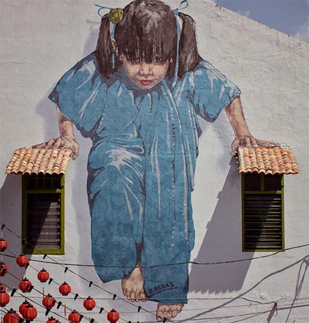 Ernest Zacharevic Murals
