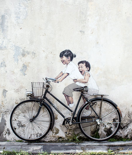 Lithuanian-born Artist Ernest Zacharevic