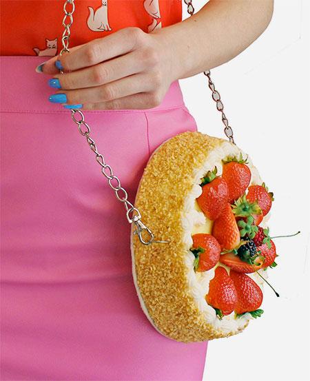 Strawberry Cake Handbag