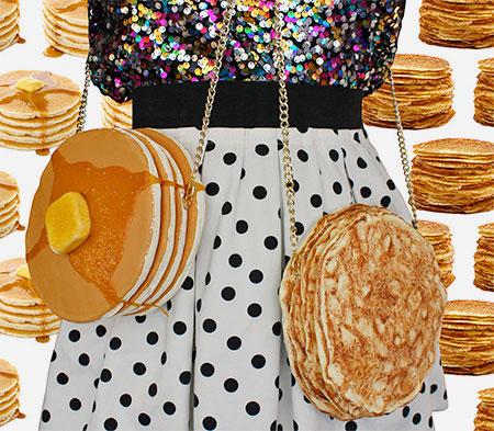 Pancake Handbag