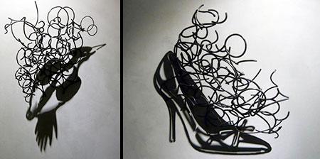 Wire Shadow Art
