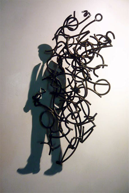 Wire Shadow Sculptures