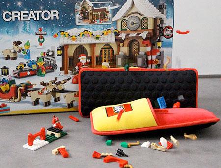 Brand Station LEGO Slippers